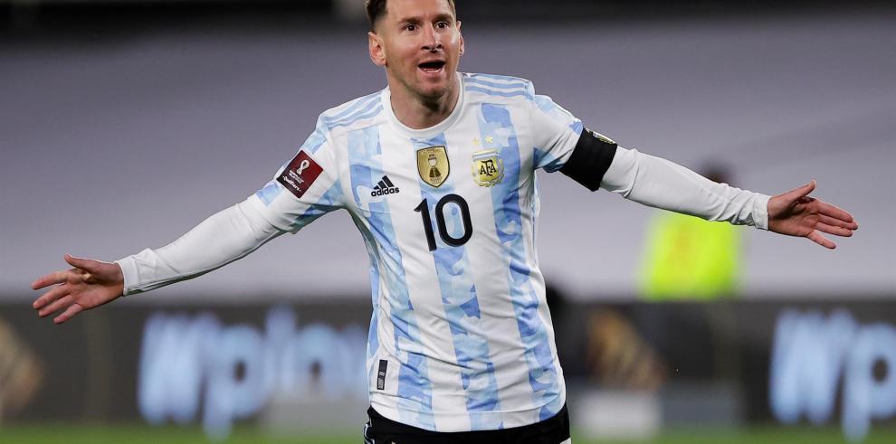 Lionel Messi de Argentina.