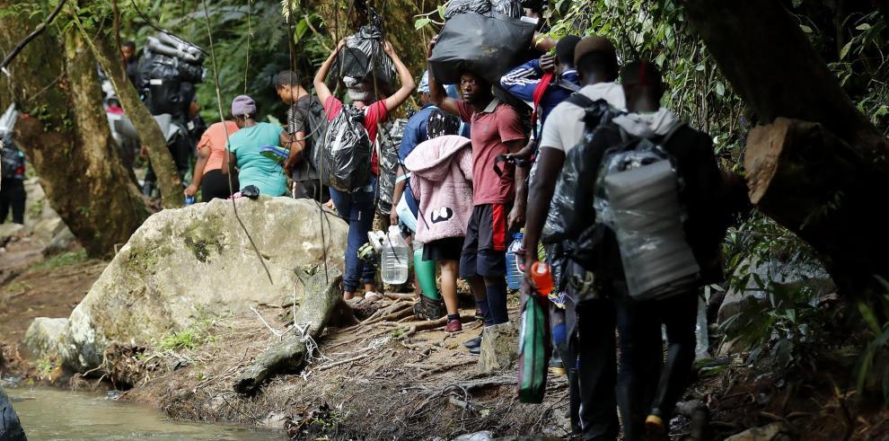 El Darién, la jungla que no deja ir a los migrantes.