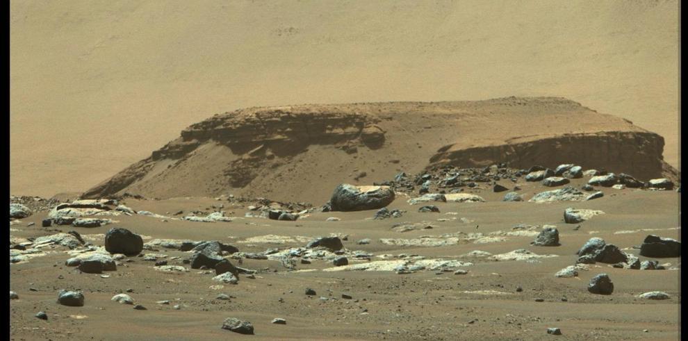 Rover perseverante del montículo Kodiak