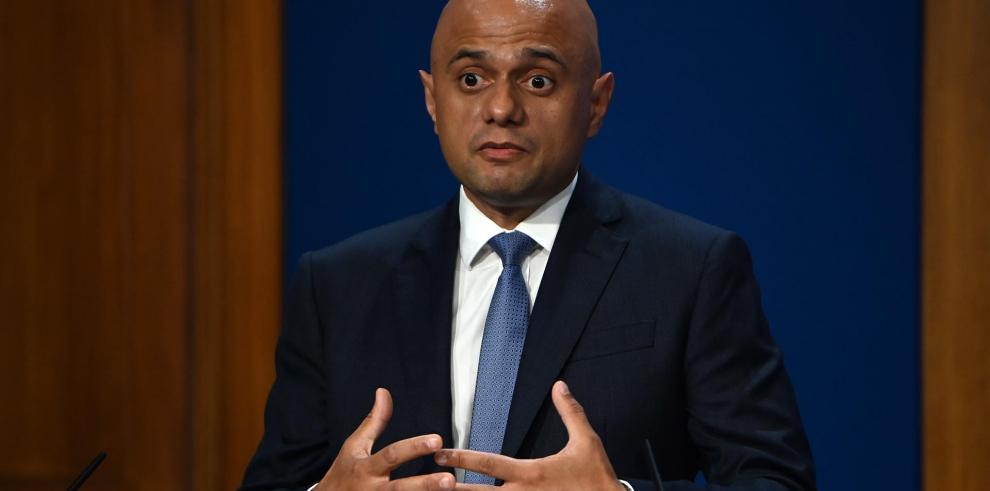 El ministro del Interior británico, Sajid Javid, en una imagen de archivo.