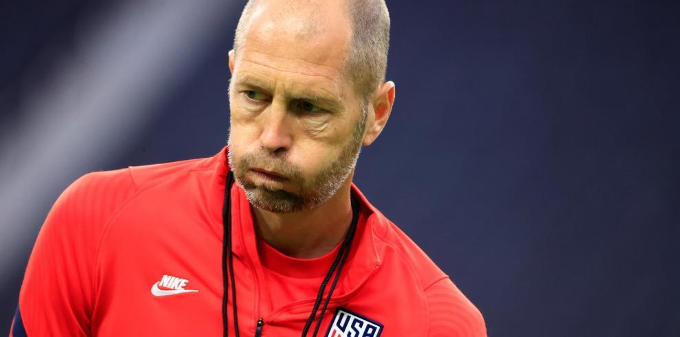 El entrenador de Estados Unidos, Gregg Berhalter.