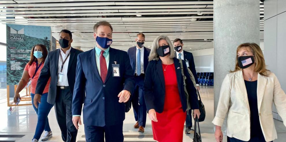 Delegación del Congreso de Estados Unidos visita Panamá en misión
