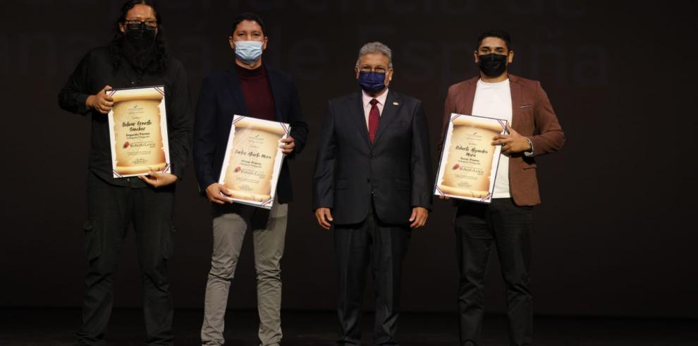 Ganadores del Concurso Nacional Roberto Lewis.