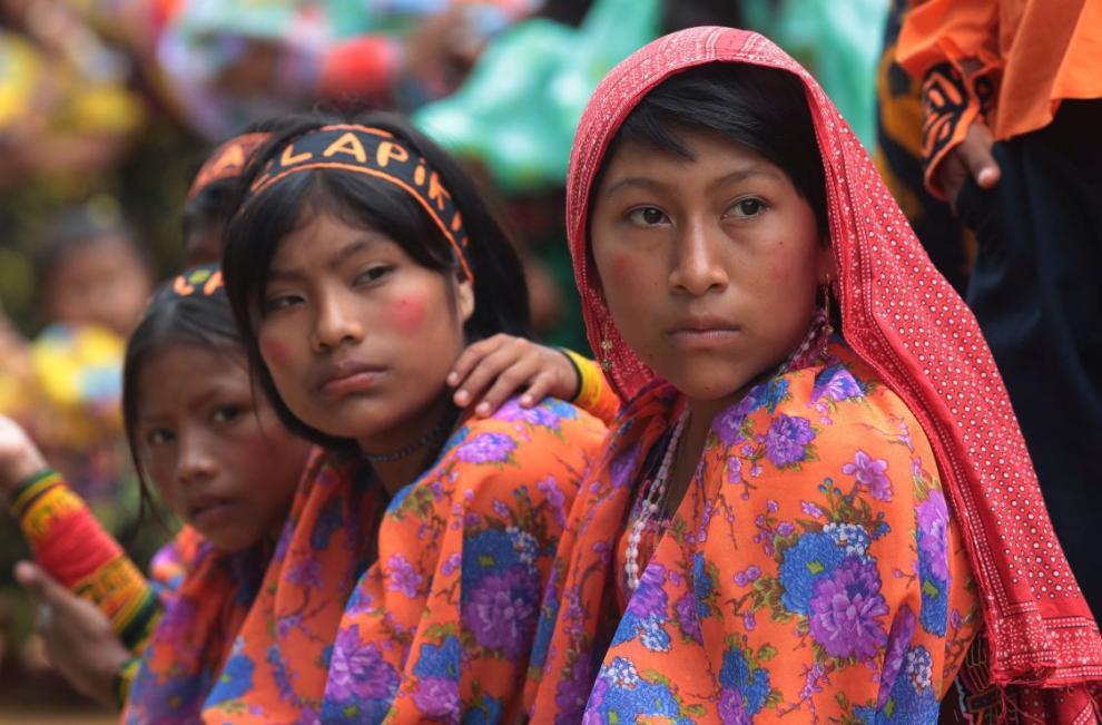 IV Festival Estudiantil Guna de Madungandí