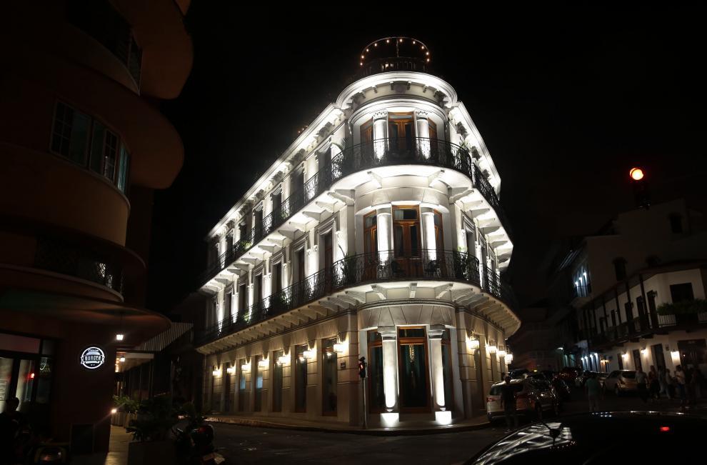 En el Casco Antiguo  patrimonio nacional de Panamá, se caracteriza por la historia arquitectónica y urbana de sus edificaciones