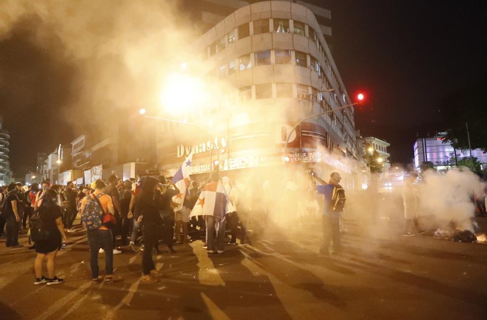 Manifestación en Panamá