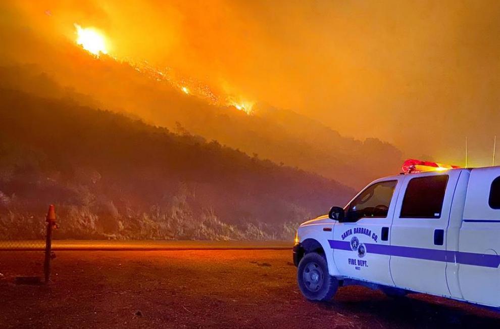 California bajo fuego