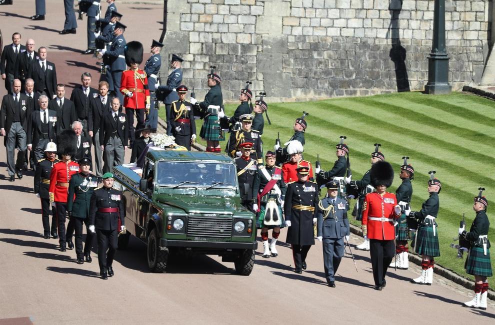 Funeral de del duque de Edimburgo