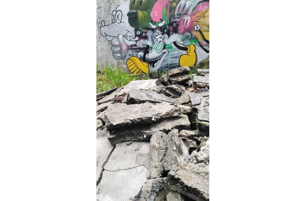 Arte en la Calzada de Amador