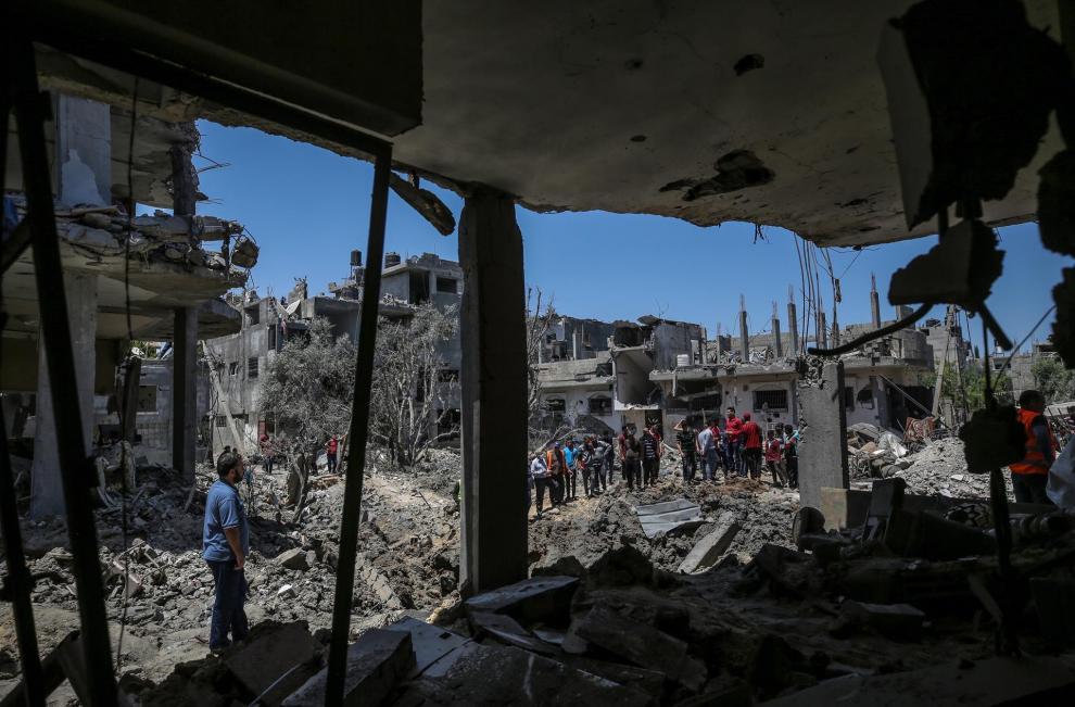 Los ataques entre ambos países ha ocasionado más de 119 los muertos en Gaza, 31 menores y destrucciones de edificios